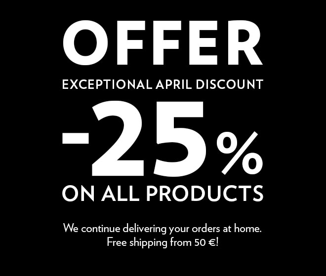 25 % discount on all products