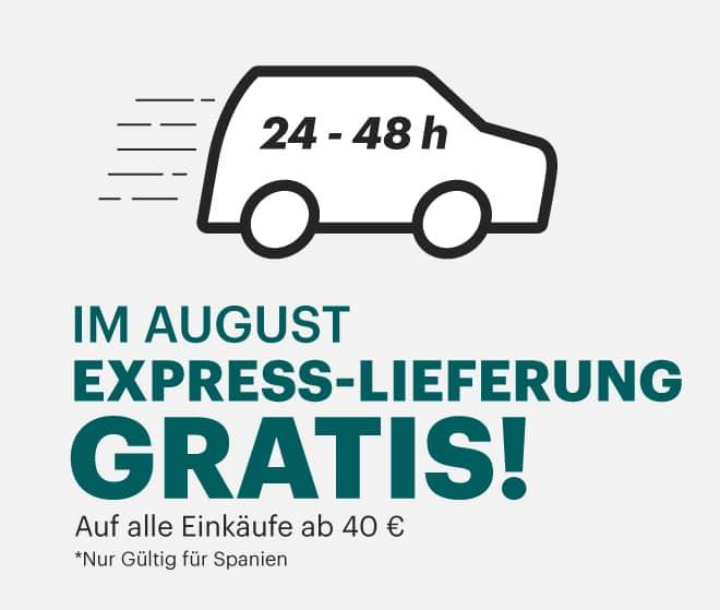 Express-Lieferung Gratis