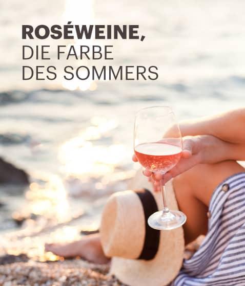 Roséweine, die Faber des Sommers
