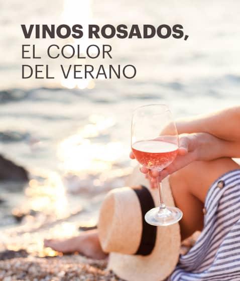 Vinos rosados, el color del verano