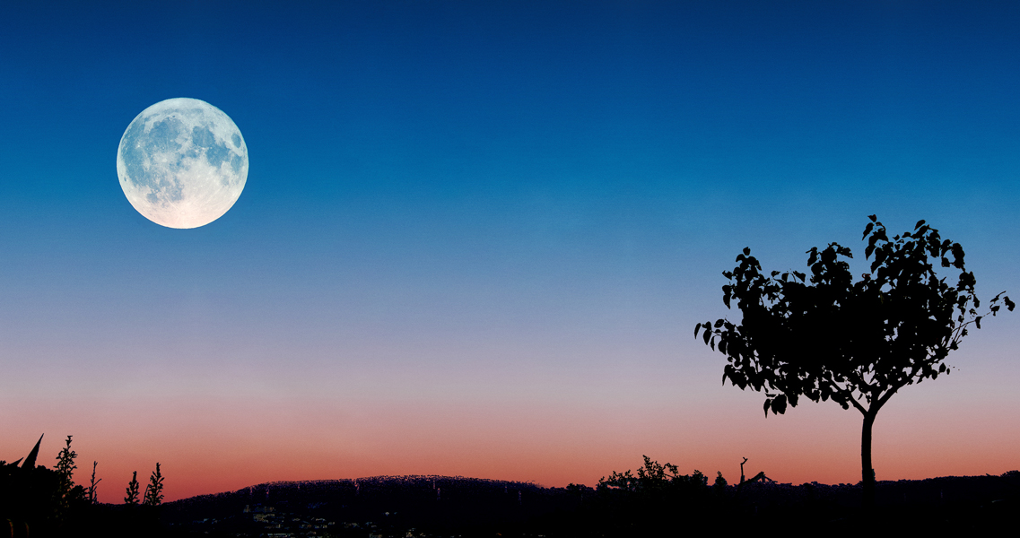 La lluna plena de juliol