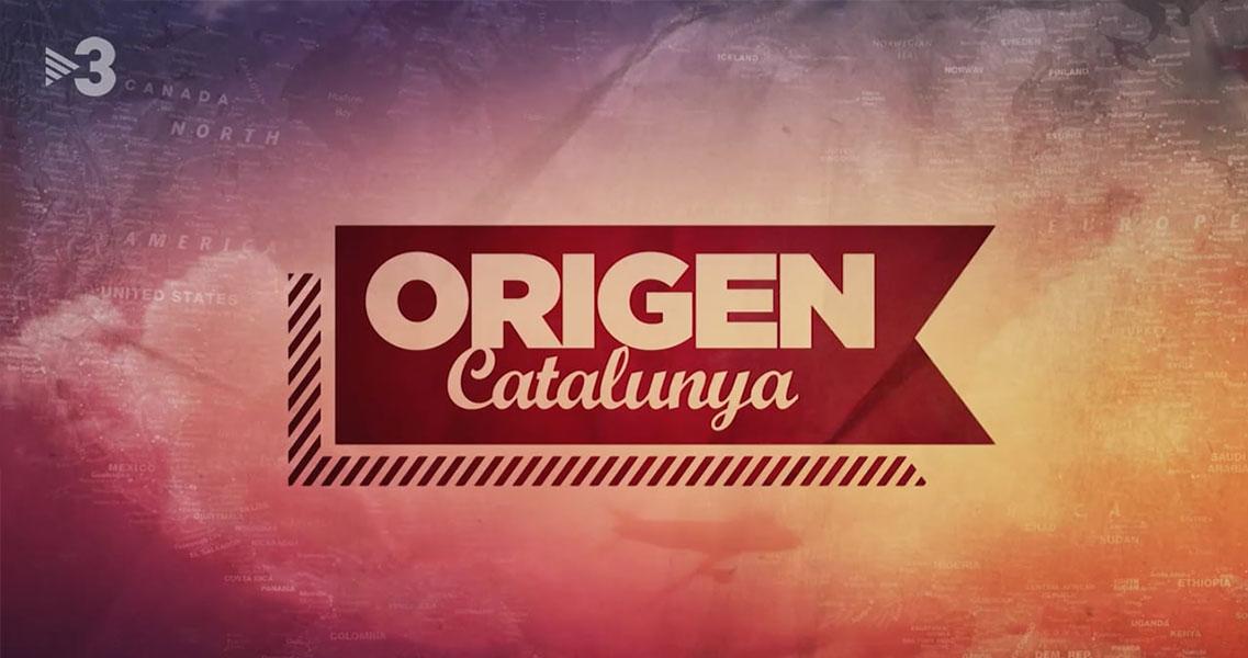 Cabecera del programa Origen Catalunya de TV3