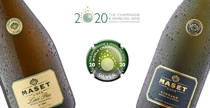 L'avi Pau i Vintage premiats en el certamen internacional CSWWC 2020