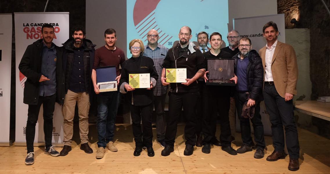 Foto de tots els guanyadors de l'acte