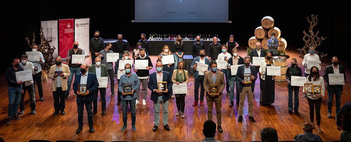 Ganadores de la gala Tastavins 2021