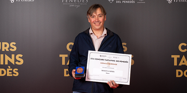 La Sínia 2019 premiada con una medalla de bronce en el 55.º concurso Tastavins