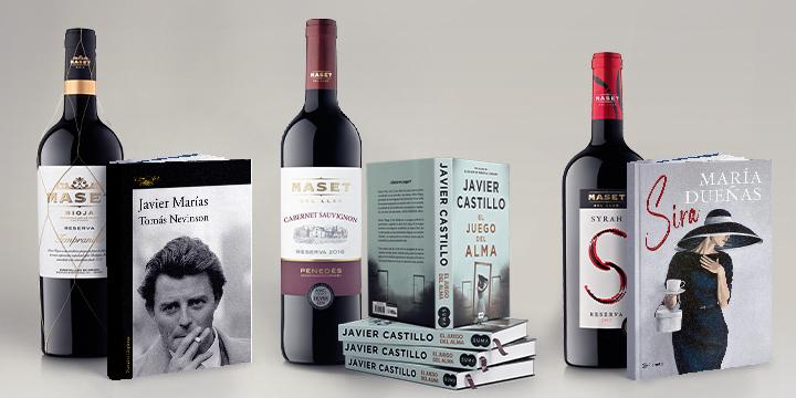 Maridajes de vino y literatura