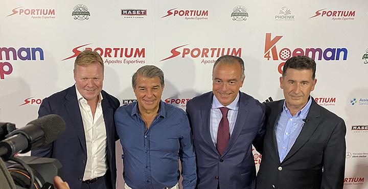 Maset colabora en la primera edición del torneo benéfico Koeman Cup