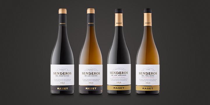 Nueva gama de vinos Senderos