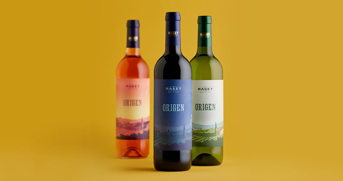Nueva imagen de nuestra gama de vinos Origen