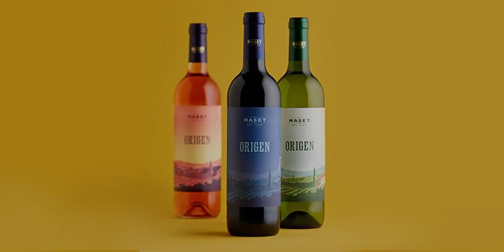 Nova imatge de la nostra gamma de vins Origen